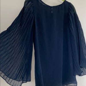 MM couture bell sleeved blouse